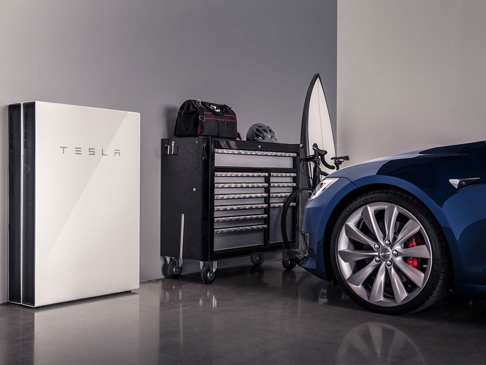 Tesla PowerWall 2 Battery Storage System by PSW Energy