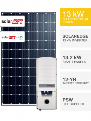 13kW SolarEdge HD Wave System