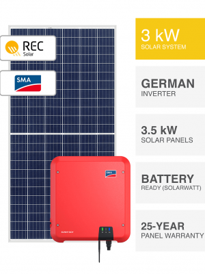 3kW REC-SMA Solar System