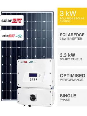 3kW SolarEdge HD Wave System