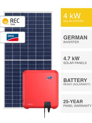 4kW REC-SMA Solar System