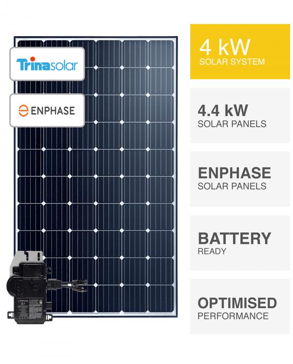 4kW TrinaSolar-Enphase System