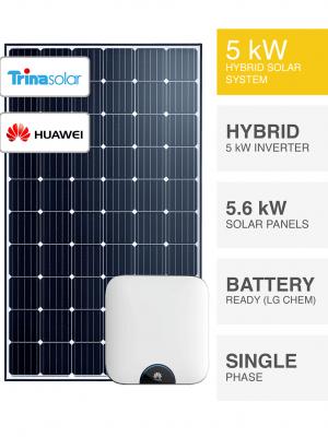 5kW Trina-Huawei System