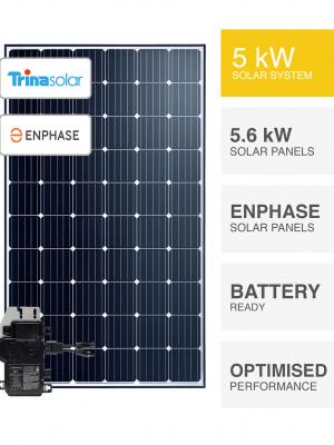 5kW TrinaSolar-Enphase System