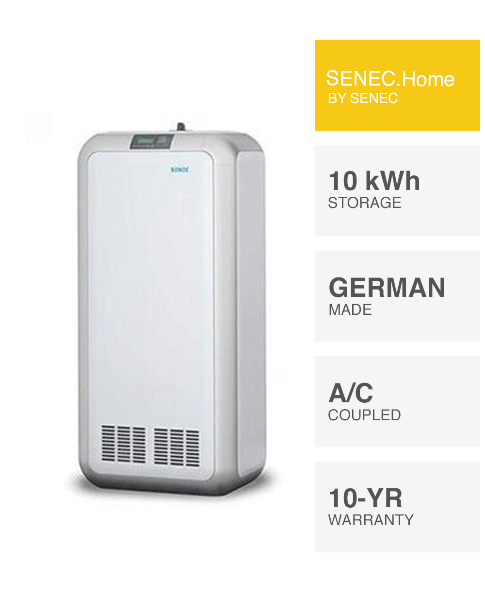 Senec Home Solar Battery Made In Germany Installed