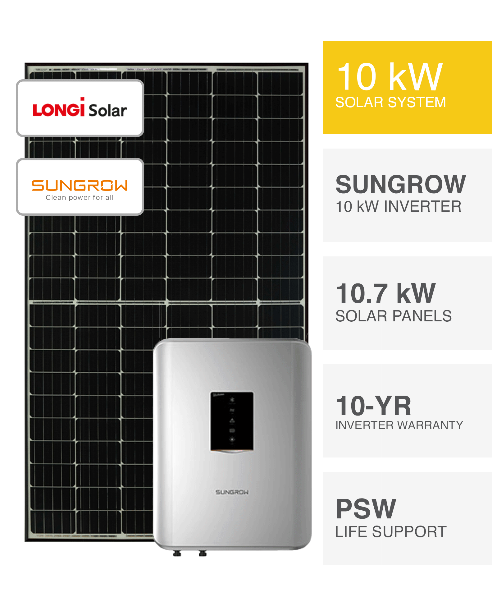Longi 10kw Solar System Save More Installed Prices Perth Wa