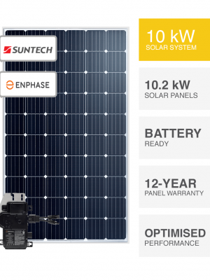 10kW Suntech & Enphase solar system