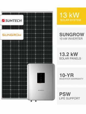 13kW Suntech Sungrow Solar System