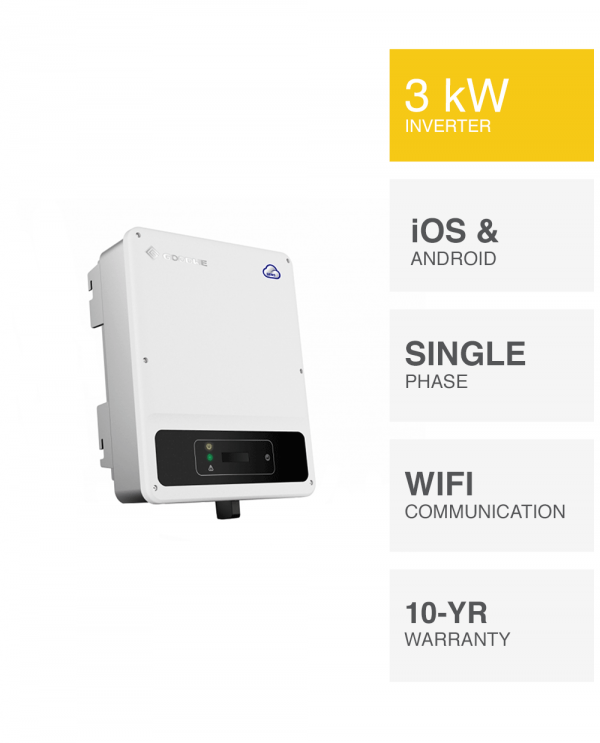 3kW Goodwe DNS Inverter