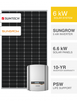 6kW Suntech & Sungrow by PSW Energy