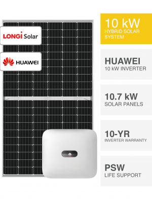 10kW LONGi & Huawei Solar System