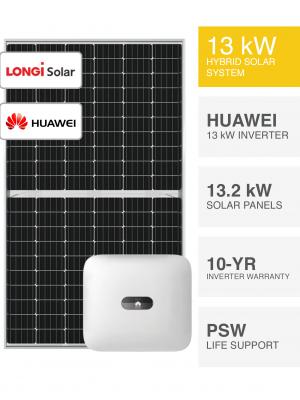 13kW LONGi & Huawei Solar System