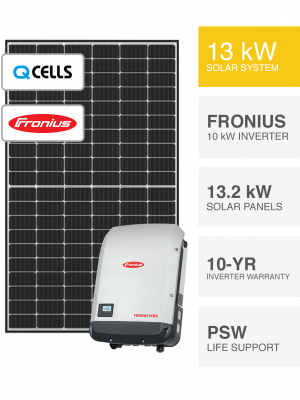 13kW QCELLS & Fronius Solar System