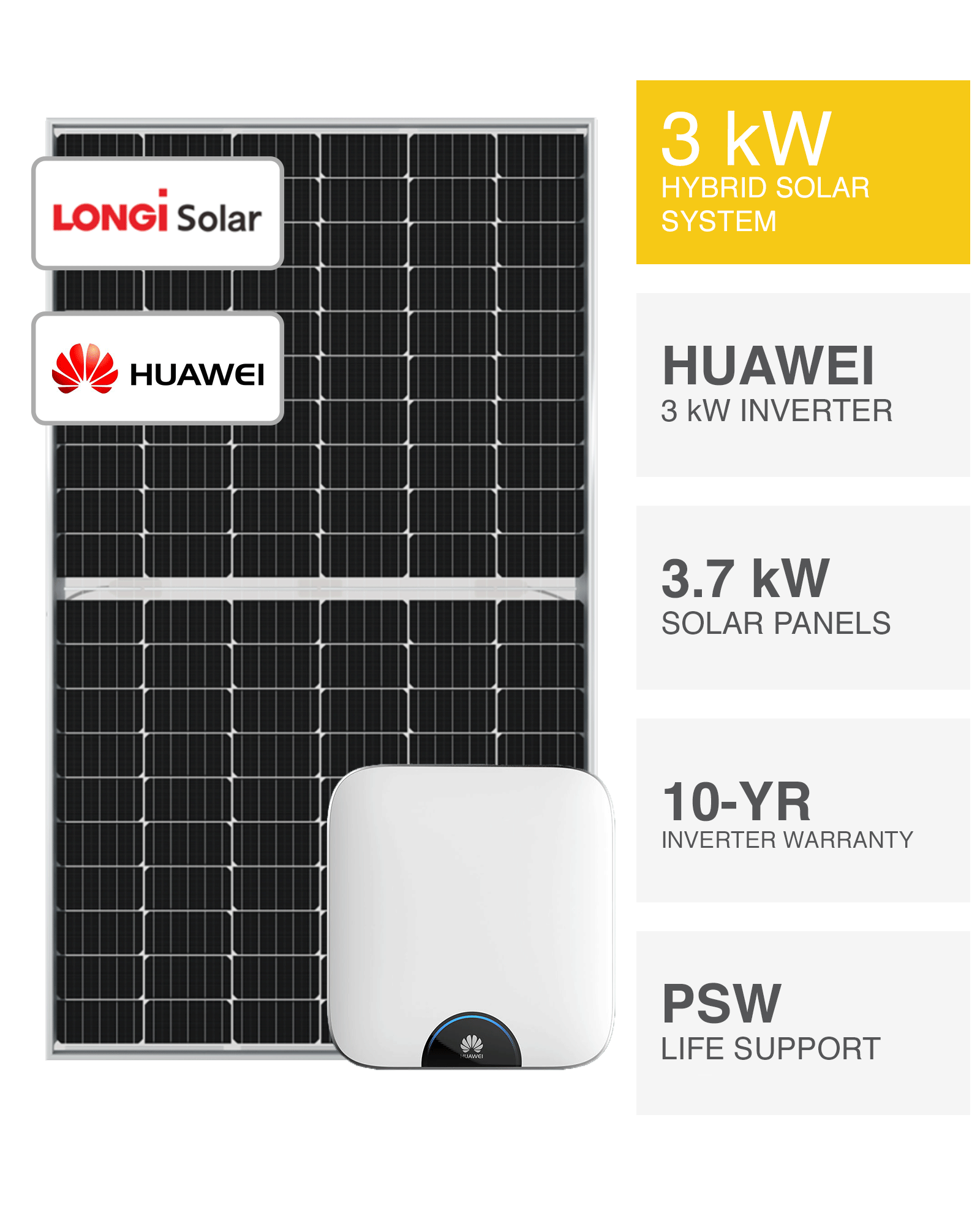 3kw Hybrid Solar System Battery Ready Save More Installed Perth Wa