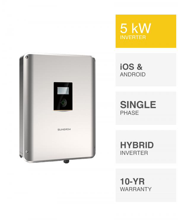5kW Sungrow Hybrid Inverter by PSW Energy