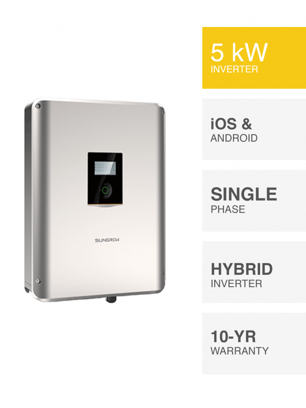 5kW Sungrow Hybrid Inverter