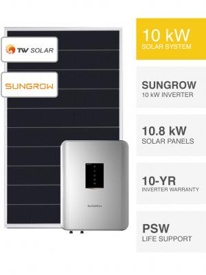 10kW TW Solar & Sungrow