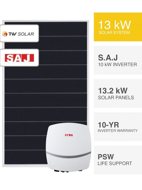 13kW Ultra-efficient TW Solar Solar System