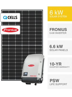 6kW QCELLS & Fronius System
