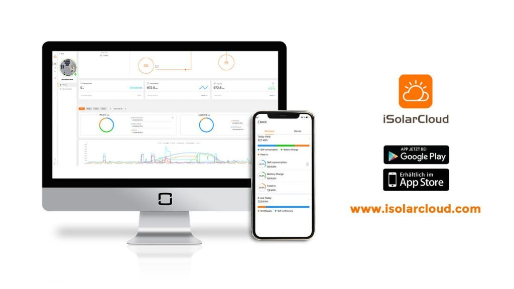 Sungrow iSolarCloud Solar Monitoring