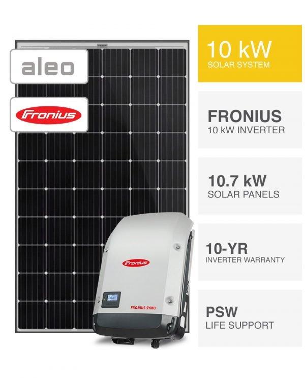 10kW Aleo & Fronius Solar System