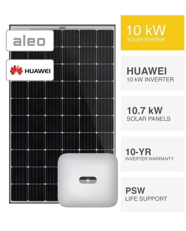 10kW Aleo & Huawei Solar System