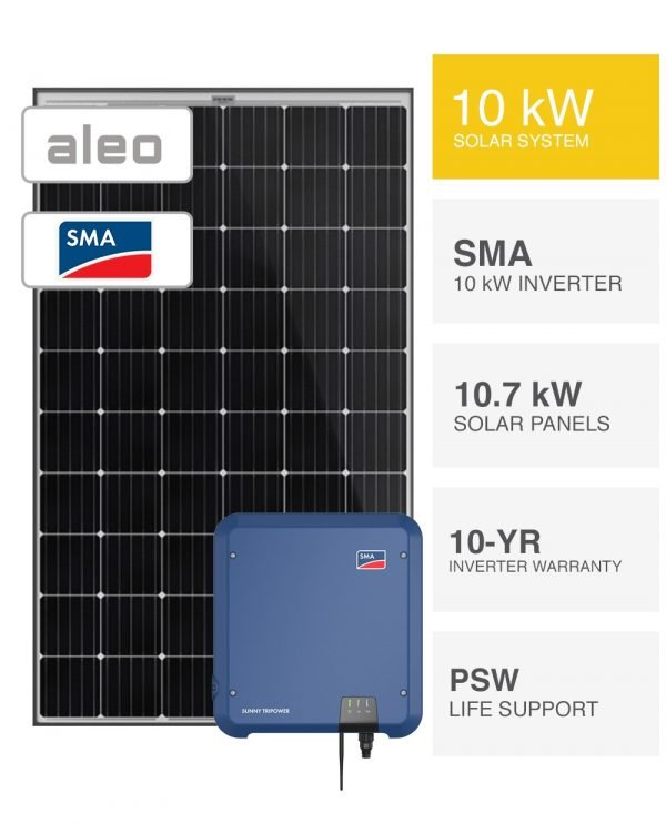 10kW German Solar System