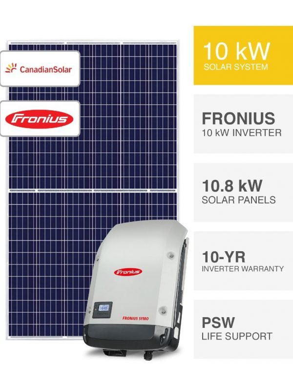 10kW Canadian & Fronius Solar System