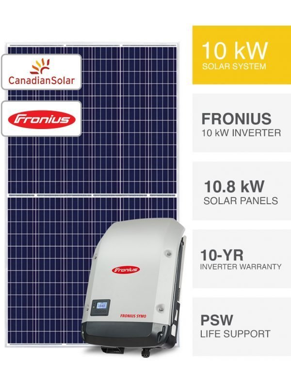 10kW Canadian & Fronius Solar System by PSW Energy