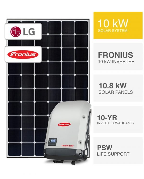 10kW LG & Fronius Solar System