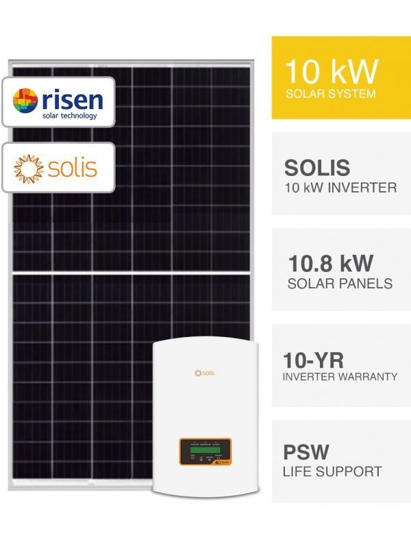 10kW Risen & Solis Solar System by PSW Energy