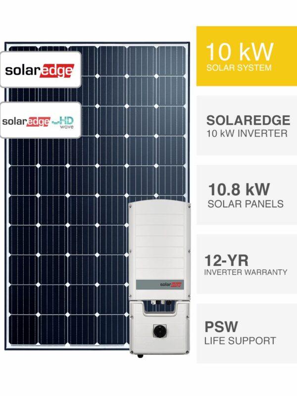 10kW SolarEdge Solar System