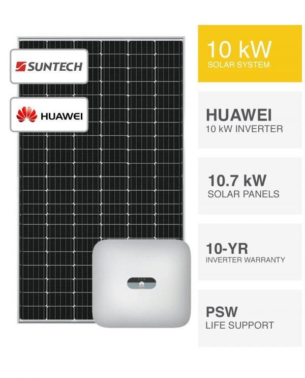 10kW Suntech & Huawei Solar System
