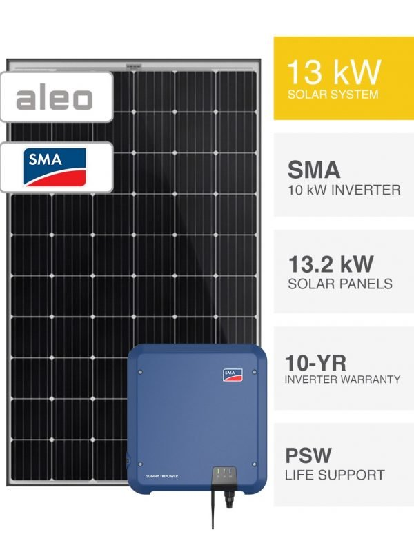13kW German Solar System