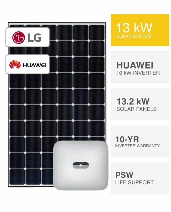 13kW LG & Huawei Solar System