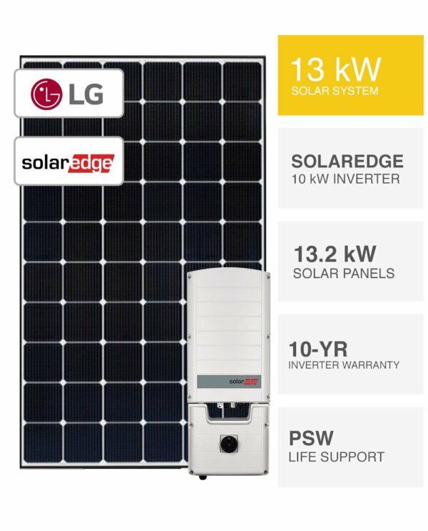 13kW LG & Solaredge Solar System