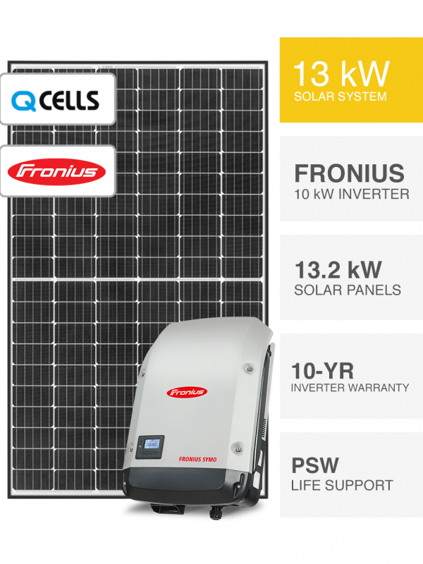 13kW QCELLS Solar System Packages