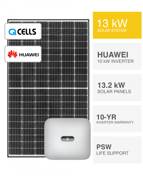 13kW-QCELLS-&-Huawei-Solar-System-Packages
