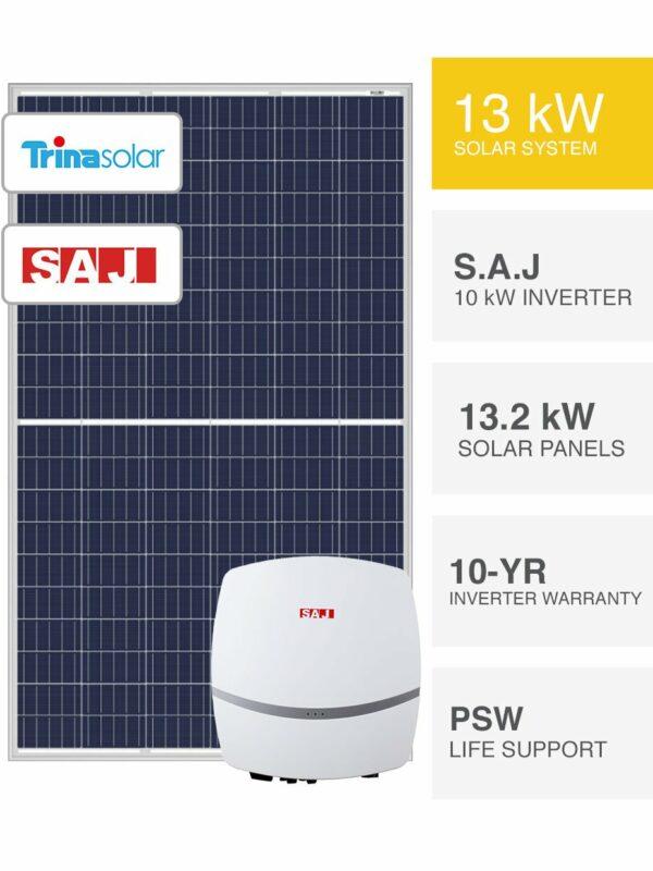 13kW S.A.J & Trina Solar by PSW Energy