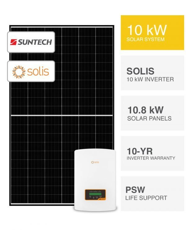 10kW Suntech & Solis inverter Solar System by PSW Energy
