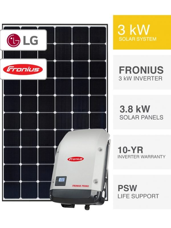 3kW LG Solar System