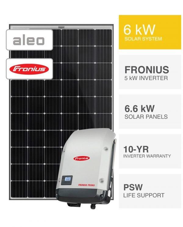 6kW Aleo & Fronius Solar System (1)