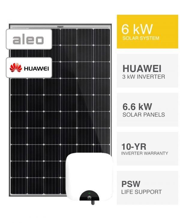 6kW Aleo & Huawei Solar System (1)