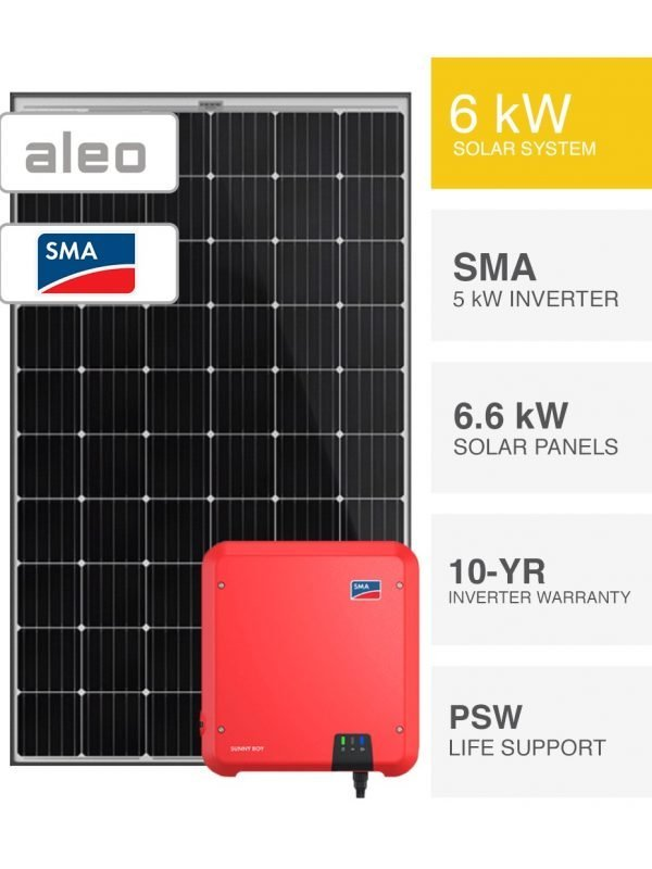6.6kW German Solar System (1)