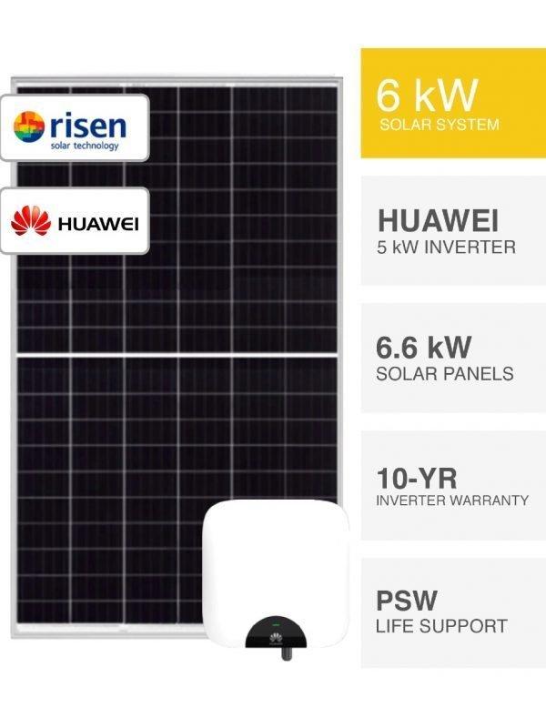 6.6kW Risen Solar System