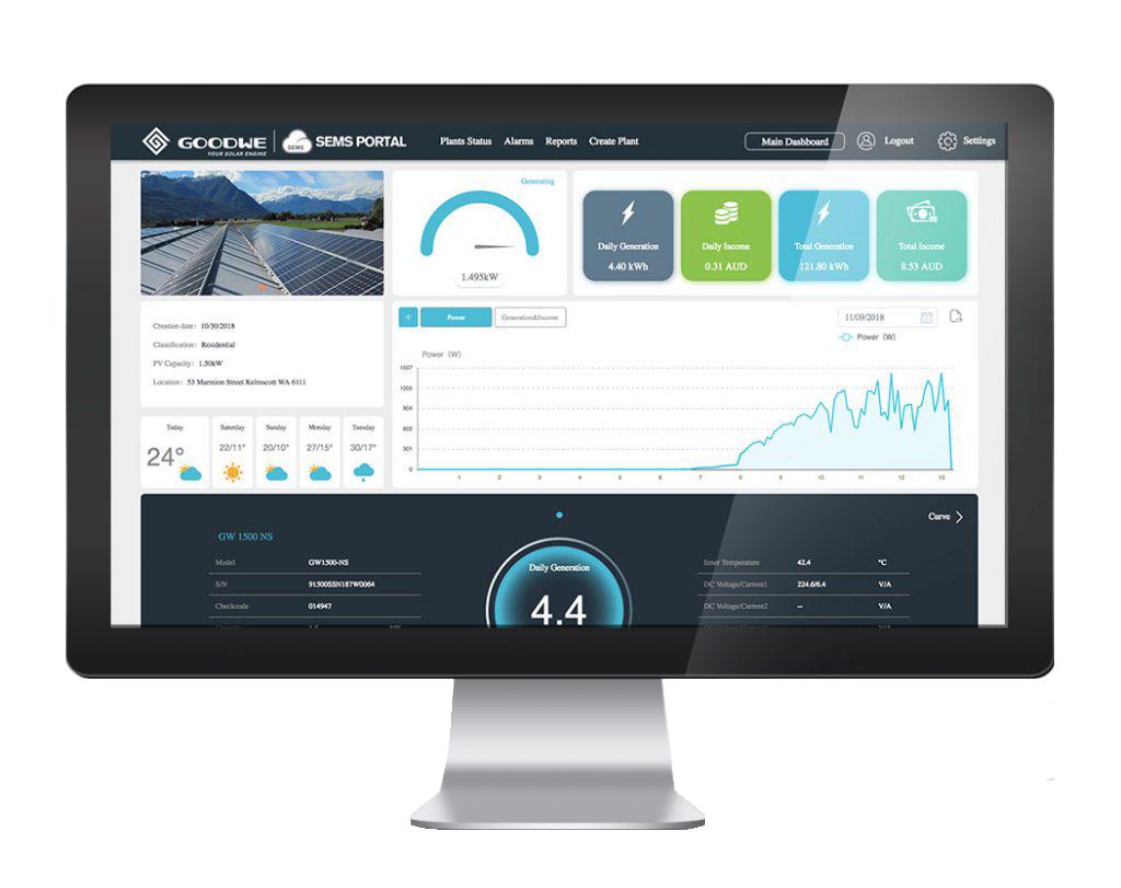 Goodwe SEMS Portal