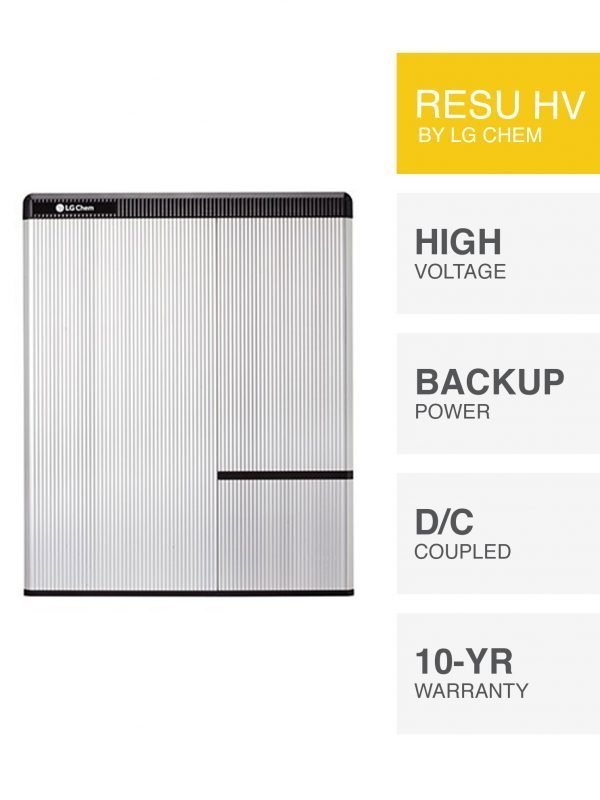 LG Chem RESU HV Battery by PSW Energy