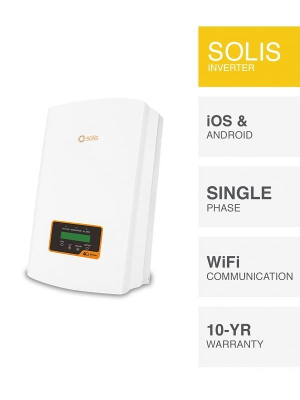 Solis 4G Series Inverter Replacement by PSW Energy