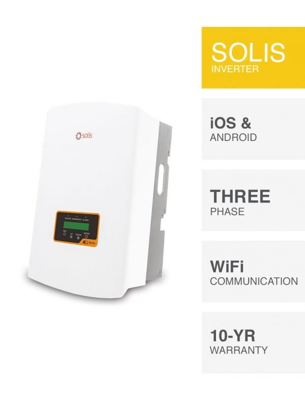 3kW Solis 4G Series Inverter Replacement by PSW Energy