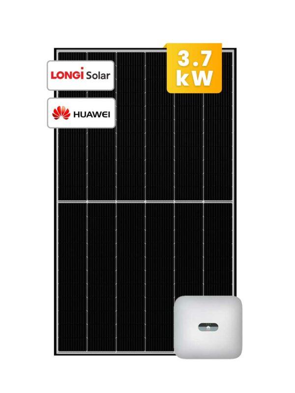 Longi Huawei Solar System 3.7kW